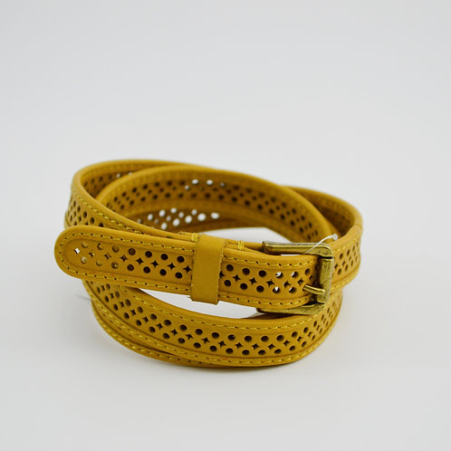J. Crew Lazor Cut Belt #135-1543