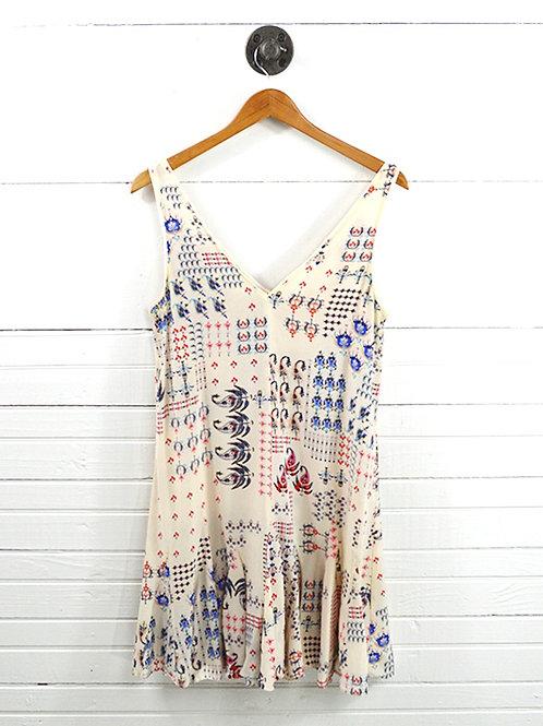 Club Monaco Silk Print Dress #177-1617