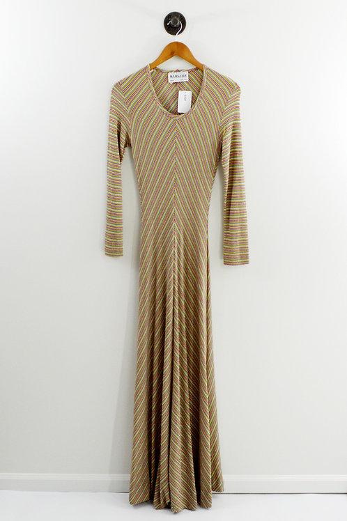 Mam' selle Striped MaxI Dress #135-122