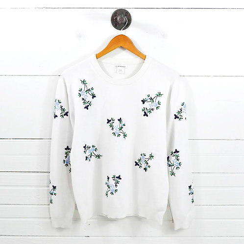Club Monaco Floral Knit Sweater #126-19