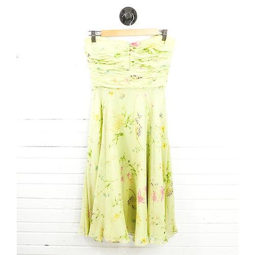 Lauren Ralph Lauren Floral Silk Print Dress #166-1