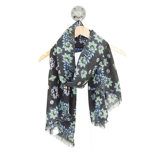 J. Crew Floral Scarf #194-3097