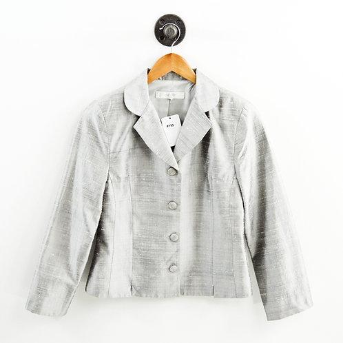 MW 90s Vintage Silk Blazer #195-16