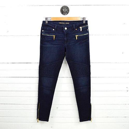 Michael Kors Ankle Zip Skinny Jean #150-3106
