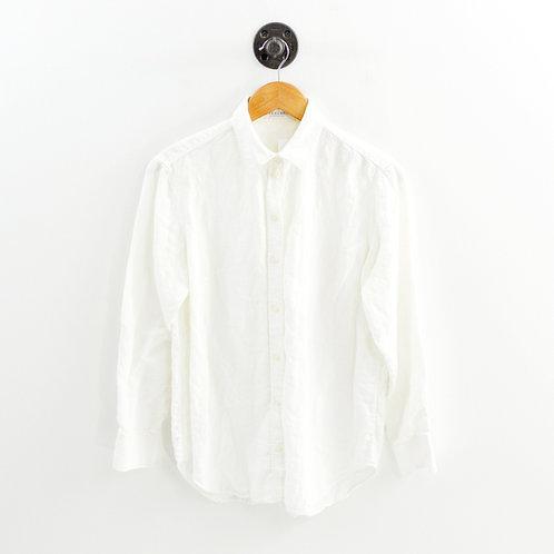 Everlane Linen Button Down Top #129-3058