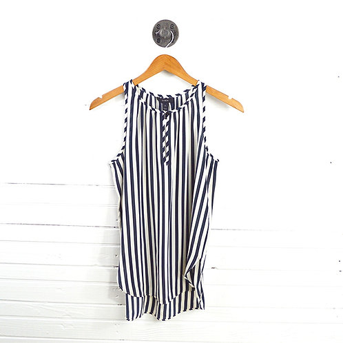 J. Crew Bengal Stripe Silk Top #123-1204