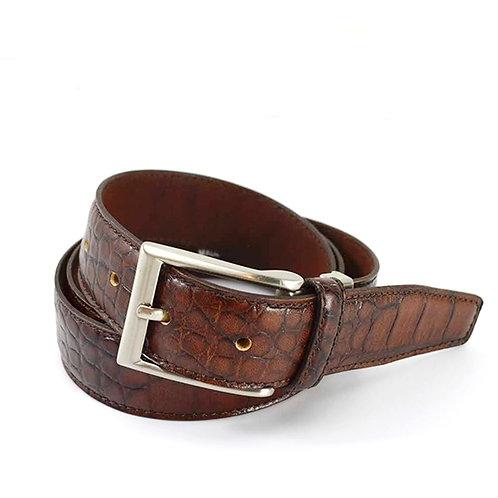 Miguel Bellido Leather Belt #170-470