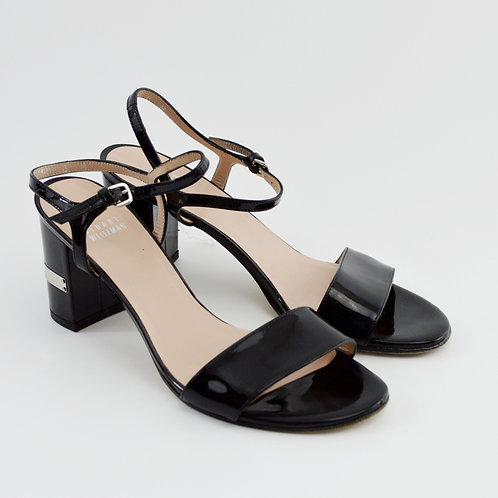 Stuart Weitzman Patent Leather Sandals #169-34
