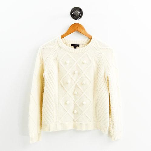 J. Crew Wool Crew Neck Sweater #186-116