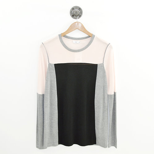 Vince. Color Block L/S Top #169-27