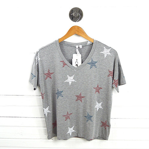 Cable & Gauge Star Print T-Shirt #123-1433