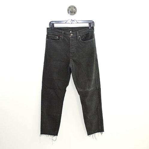 Levi's Raw Hem Straight Leg Jeans #151-1374