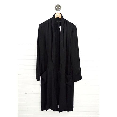 Blk Dnm Longline Jacket #131-250