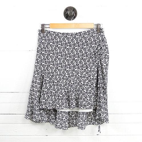 A.L.C. Silk Print Skirt #131-203