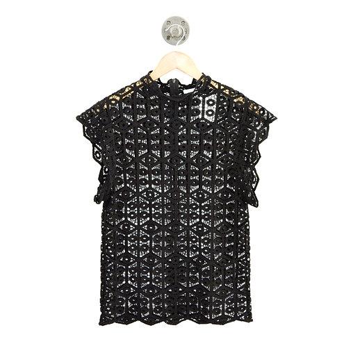 IRO Crochet Lace Top #135-98