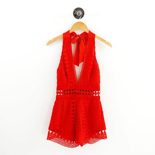 Saylor Crochet Romper #192-21