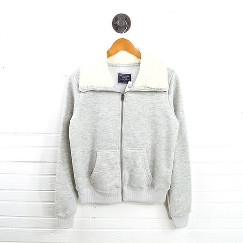 Abercrombie & Fitch Shearling Zip Up #123-3051