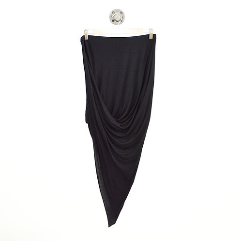 Helmut Lang Asymmetric Mini Skirt #143-111