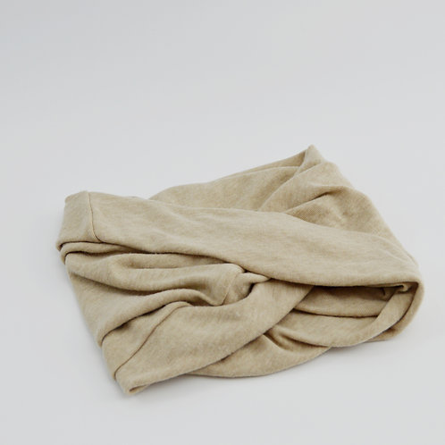 Beige Twist Head Turban/Headband #175-1802