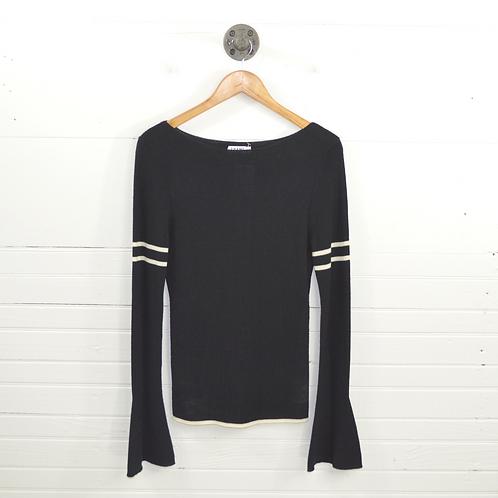 Frame Denim Bell Sleeve Sweater #131-245