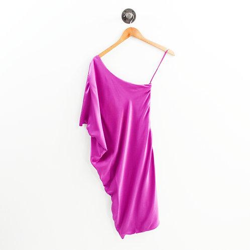 Ports 1961 One Shoulder Silk Dress #135-199