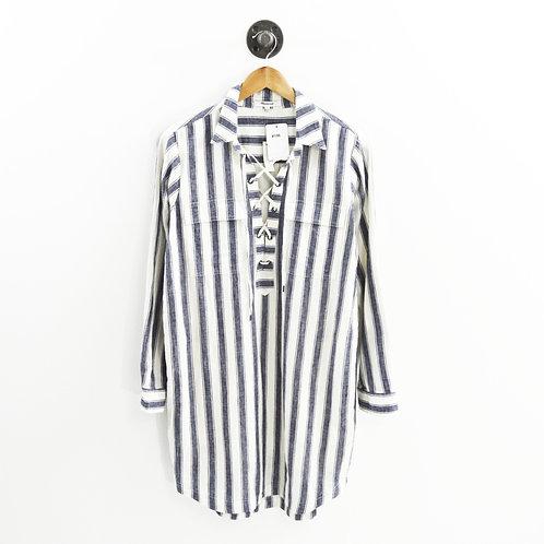 Madewell Linen Striped Dress #196-15