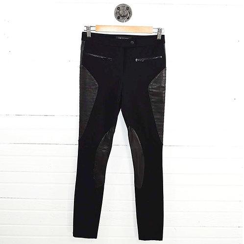 Rag & Bone Leather Moto Legging  #186-101