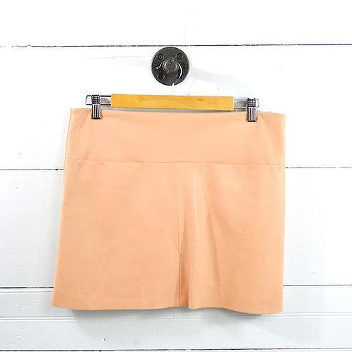 Zara Faux Leather Mini Skirt #177-1609