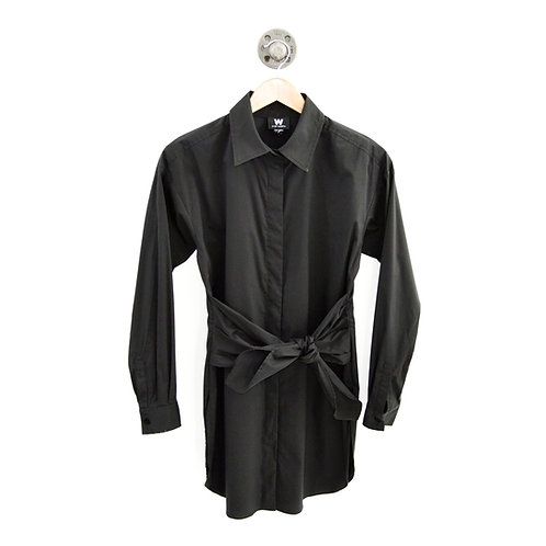 W by Worth Tie Front Shirt Dress #169-42