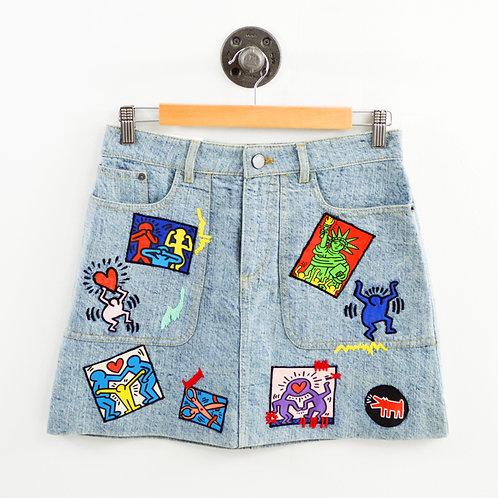 Alice + Olivia Coletta 5 pckt Mini Skirt #103-6
