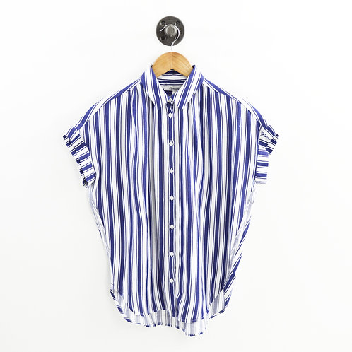 Madewell Striped Button Down Top #196-22