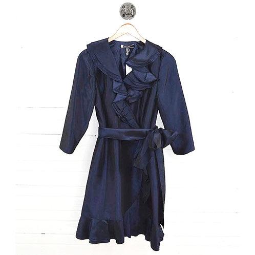 Js Boutique Ruffle Wrap Dress #166-9