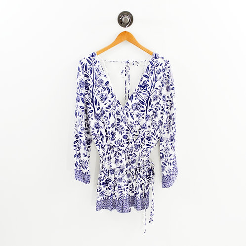 Ministry Of Style Print Romper #192-34