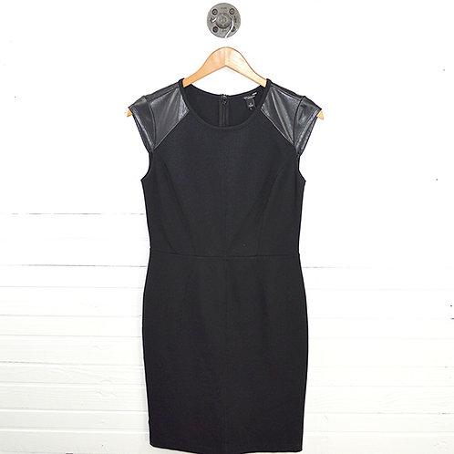 Ann Taylor Faux Leather Dress #123-3067