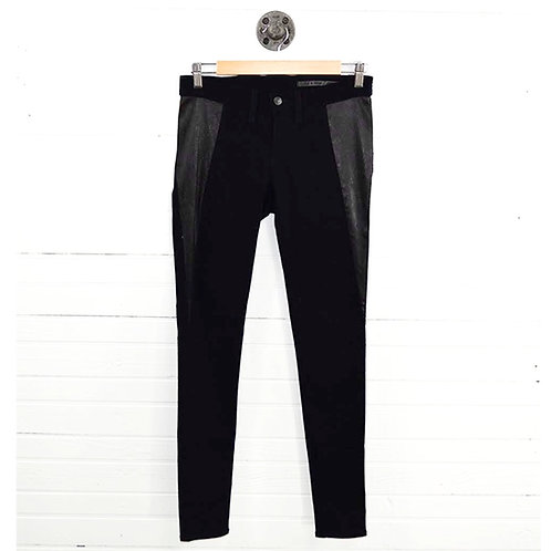 Rag & Bone/ Jean Leather Skinny Jean #186-99