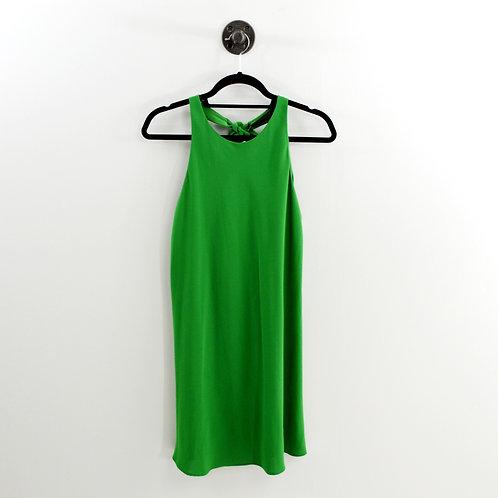 Zara Tie Neck Open Back Dress #182-1779