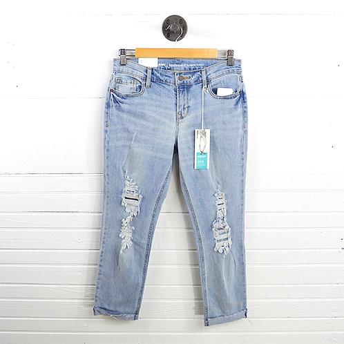 Old Navy Boyfriend Straight Leg 'Droit' Distressed Jean #123-1005