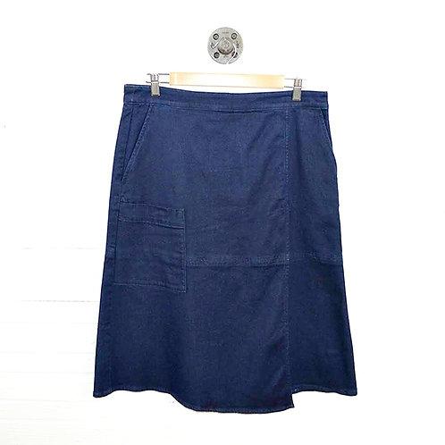 Tibi Denim Midi Skirt #131-21
