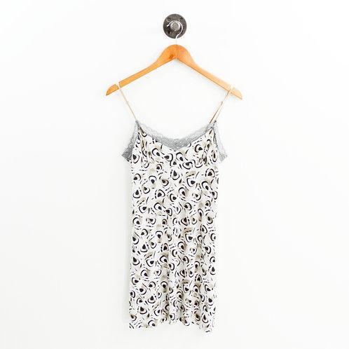 Calvin Klein Print Slip Dress Nightgown #175-33