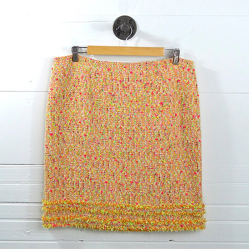 Worth New York Tweed Pencil Skirt #142-6
