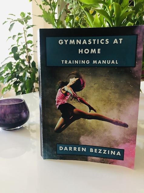 Gymnastics at Home - Book Cover