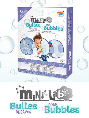 Mini lab bulles de savon 3012