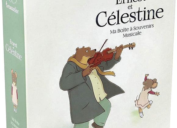 Boite à souvenirs - Ernest & Célestine