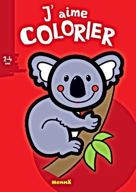 Koala - coloriage