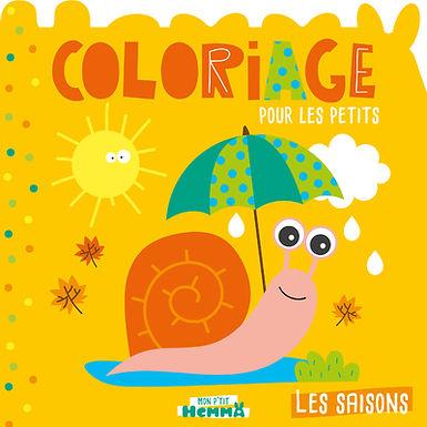 Les saisons - coloriages pour petits