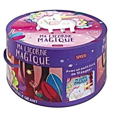 Puzzle géant - Ma licorne magique
