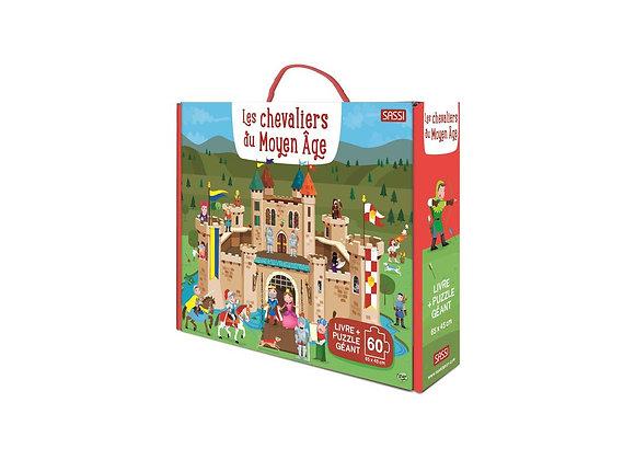 Puzzle les chevaliers du moyen age
