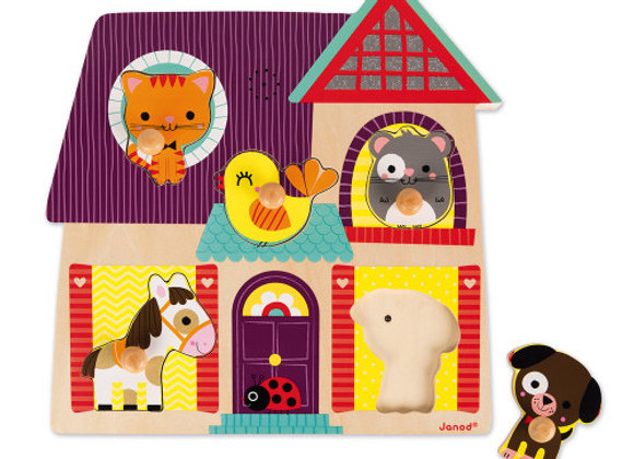 Puzzle musical - mes petits compagnons