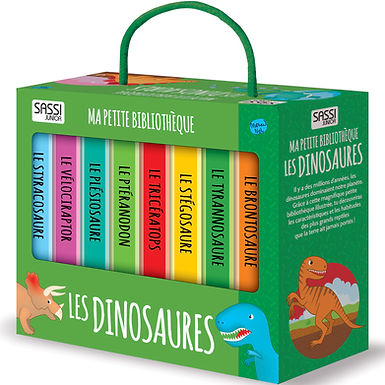 Ma petite bibliothèque les dinosaures