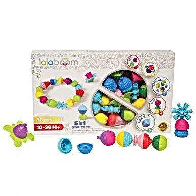 Perles éducatives & accessoires 36 pièces